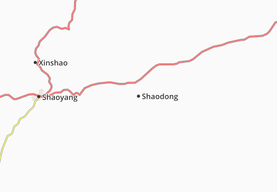 Mappe-Piantine Shaodong