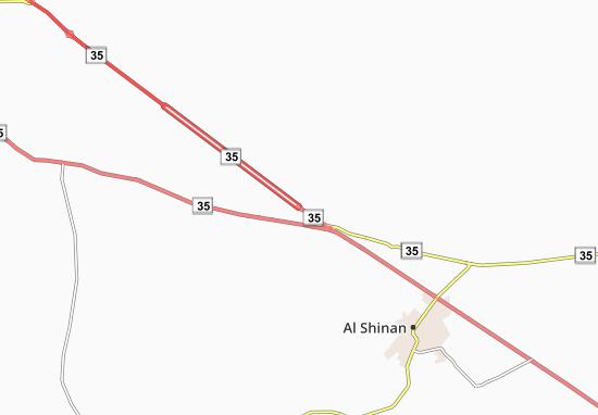 Mapa Plano Al 'Adwa