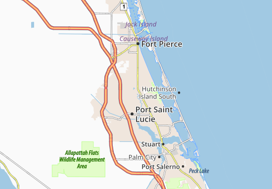 Port Saint Lucie-River Park Map