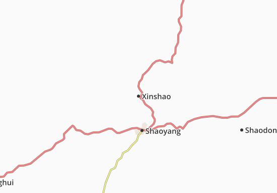 Mapas-Planos Xinshao