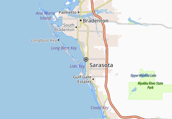 Carte-Plan Sarasota