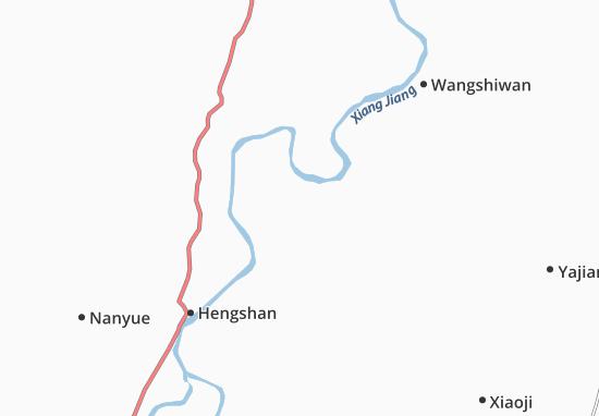Daqiaowan Map