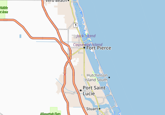 Fort Pierce South Map