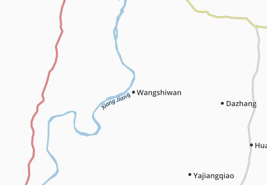 Wangshiwan Map