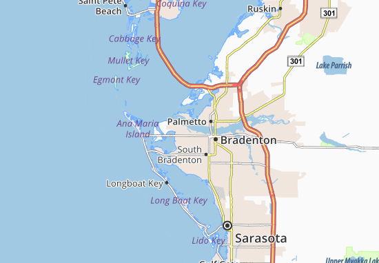 Mappe-Piantine West Bradenton