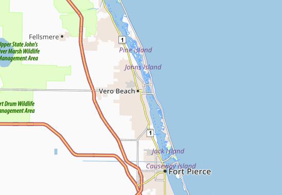 Vero Beach South Map
