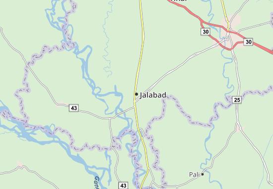 Kaart Plattegrond Jalabad