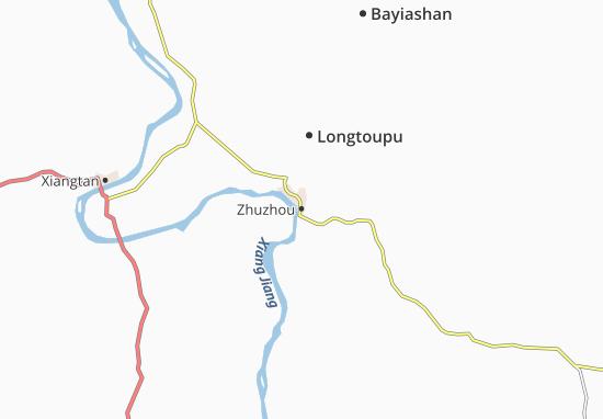Zhuzhou Map