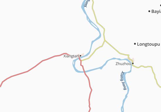 Xiangtan Map