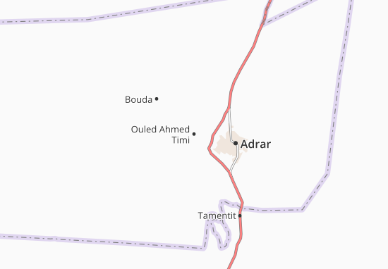 Carte-Plan Ouled Ahmed Timi