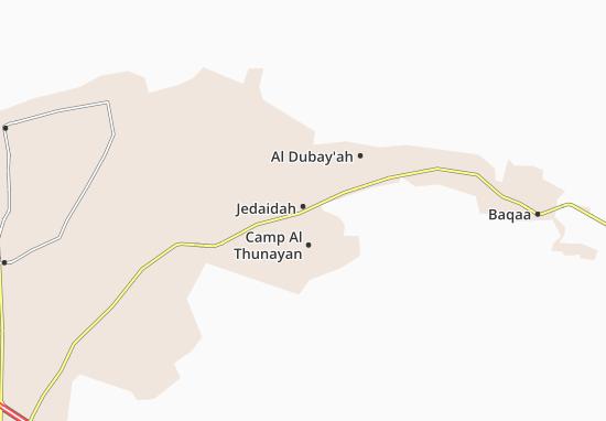Jedaidah Map