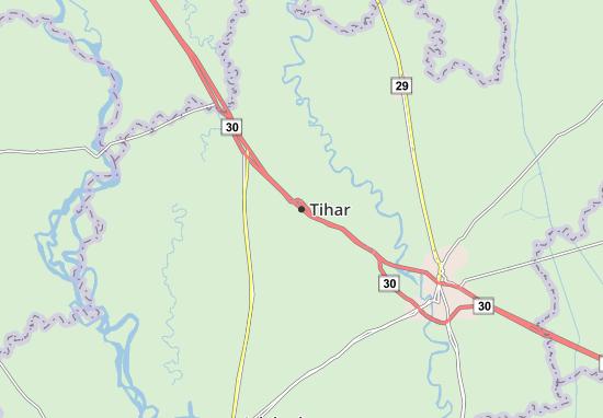 Kaart Plattegrond Tihar