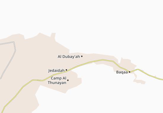 Al Dubay'ah Map