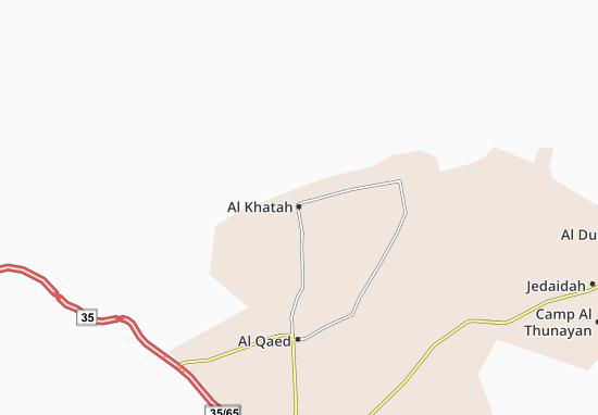 Carte-Plan Al Khatah