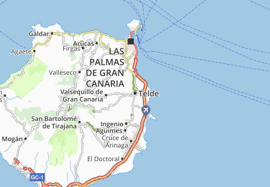 Mapa Plano Telde
