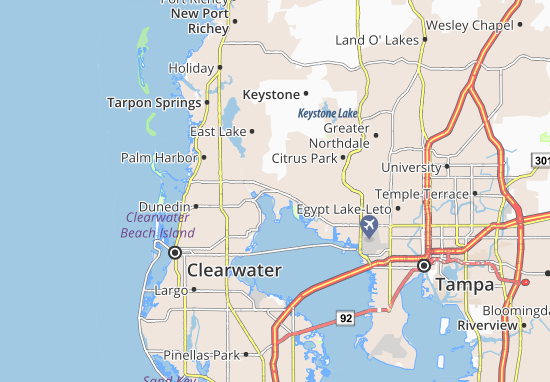 Oldsmar Map