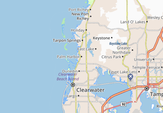 Palm Harbor Map