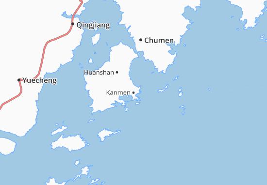 Kaart Plattegrond Kanmen