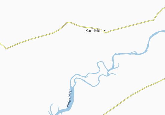 Carte-Plan Ghauspur