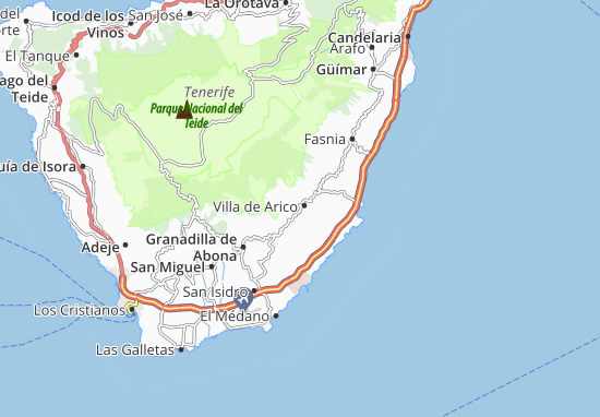 La Cisnera Map