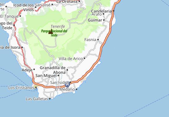 Arico Map