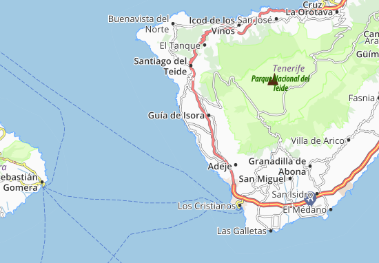 Playa de San Juan Map: Detailed maps for the city of Playa ...