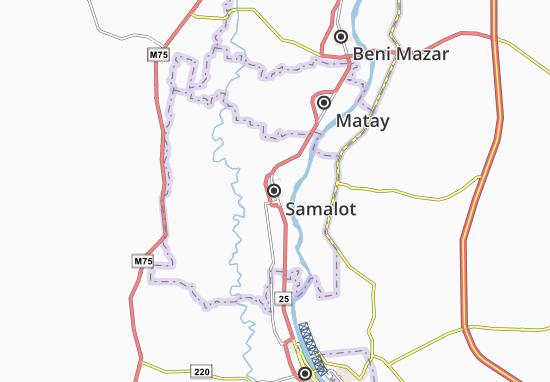 Kaart Plattegrond Samalot