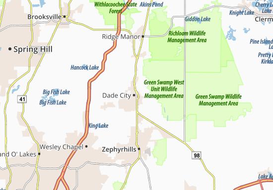 Mappe-Piantine Dade City