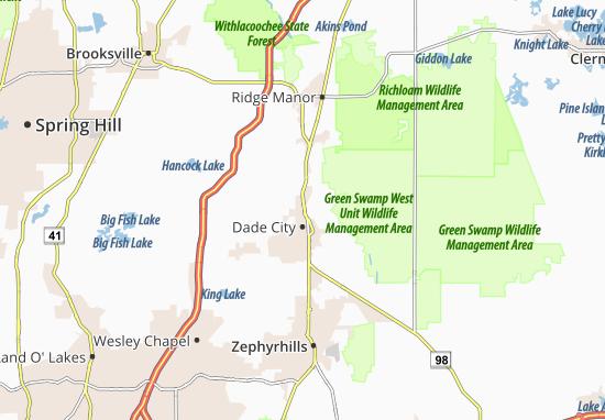 Mapas-Planos Dade City North