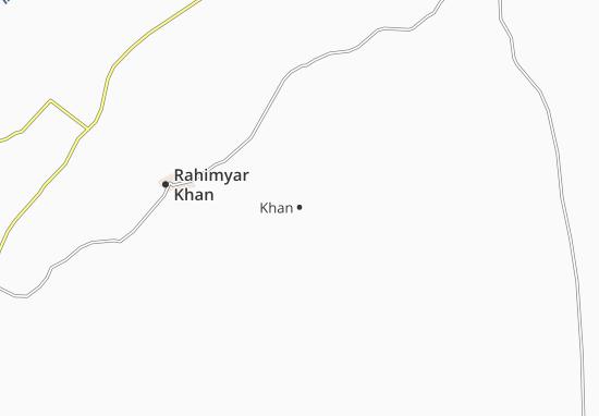 Kaart Plattegrond Khan
