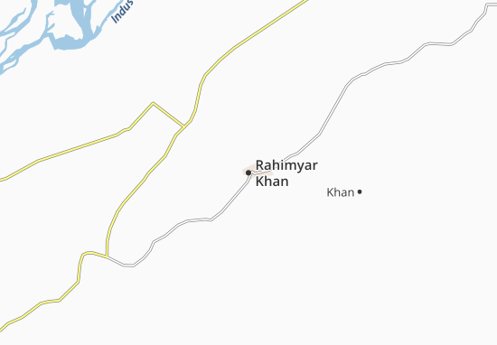 Rahimyar Khan Map