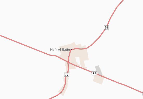 Carte-Plan Hafr Al Batin