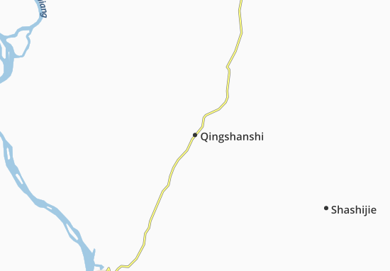 Qingshanshi Map