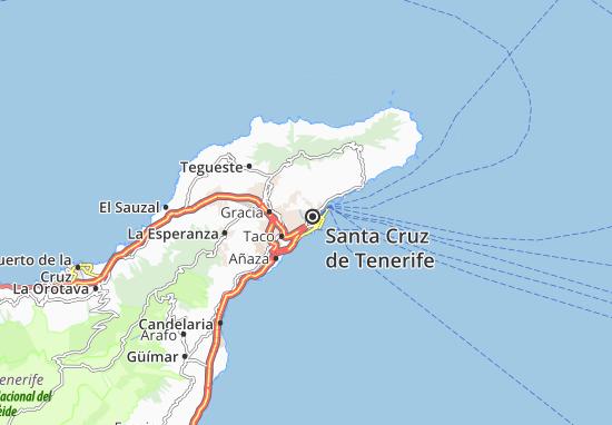 map of santa cruz de tenerife Detailed Map Of Santa Cruz De Tenerife Santa Cruz De Tenerife map of santa cruz de tenerife