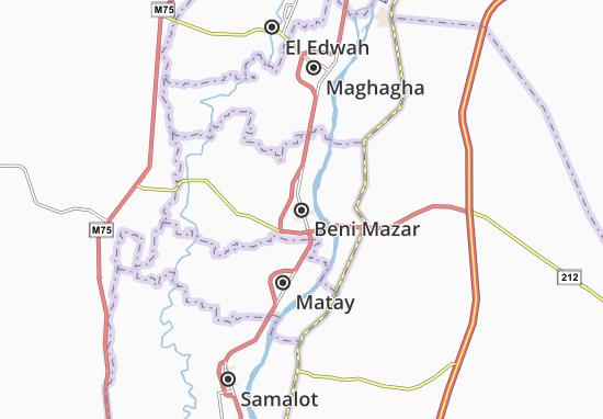 Mapas-Planos Beni Mazar