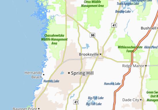 Brookridge Map