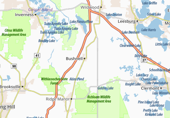 Bushnell Map