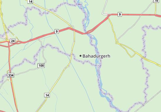 Bahadurgerh Map