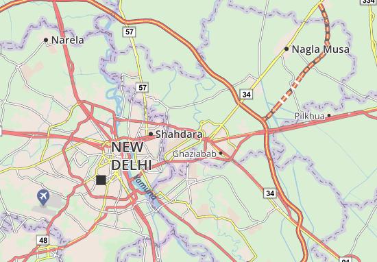 Mapas-Planos Sahibabad