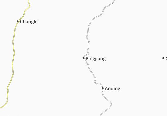 Carte-Plan Pingjiang