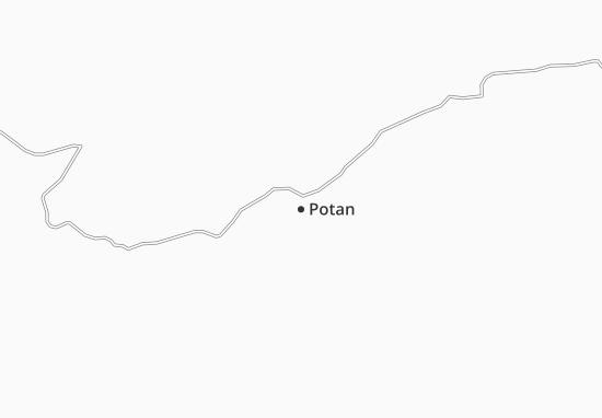Carte-Plan Potan