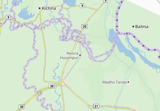 Mappe-Piantine Neoria Husainpur