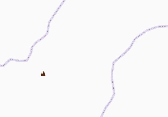 Kaart Plattegrond Marpha