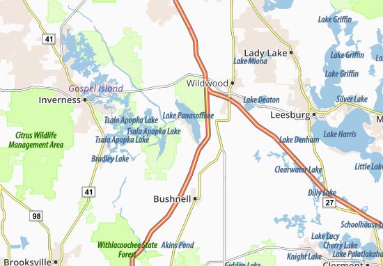Lake Panasoffkee Map