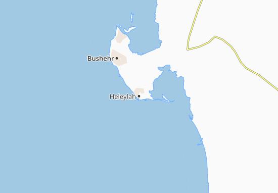 Kaart Plattegrond Heleylah