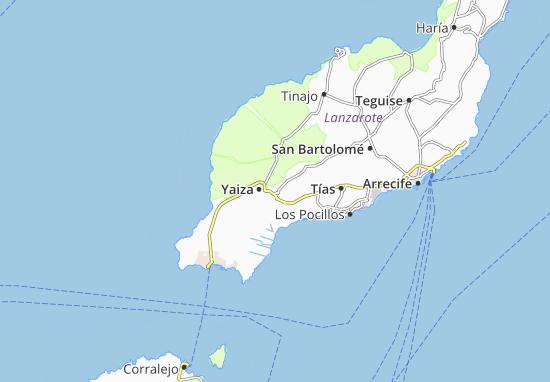 Map of Uga - Michelin Uga map - ViaMichelin