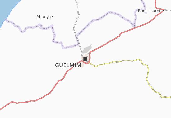 Carte-Plan Guelmim