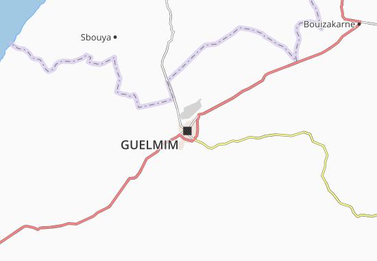 Mapa Plano Guelmim