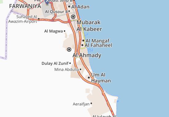 Carte-Plan South Al Shoaib