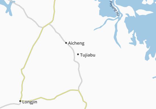 Tujiabu Map